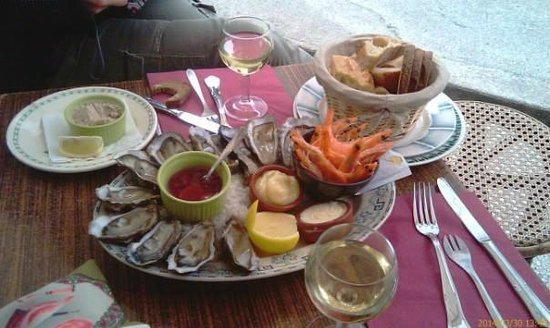Saint-Martin-de-Ré, Francia: des produits frais