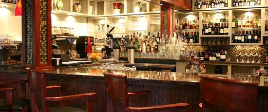Hotel Tarrymore: Early Bar, on our 1st floor