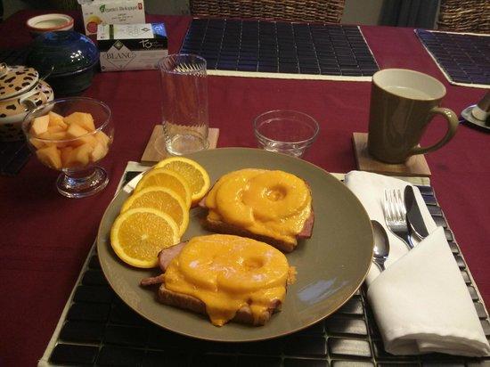 Abadin Bed and Breakfast: Breakfast