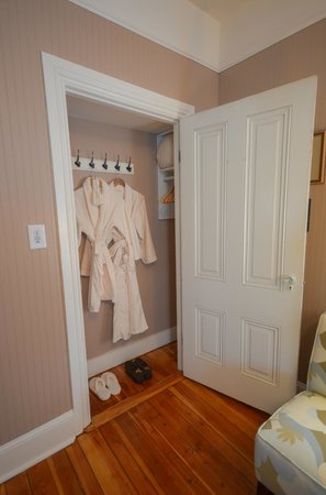 Waypoint House: Comfortable Bathrobes Await in Each Room