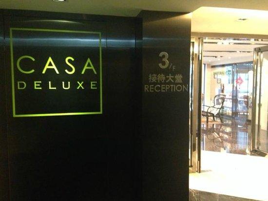 Casa Deluxe Hotel: Reception lobby