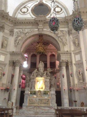 Santa Maria della Salute: one of the main altars