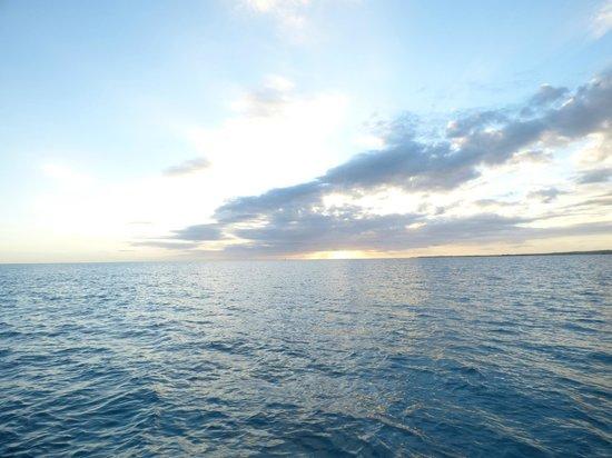 Paradise Scuba and Snorkeling Center: sunset