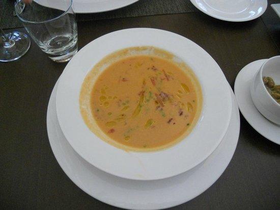 La Albufera Restaurante: gazpacho