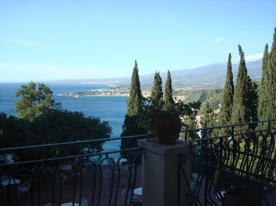 Hotel Villa Diodoro : View from our balcony