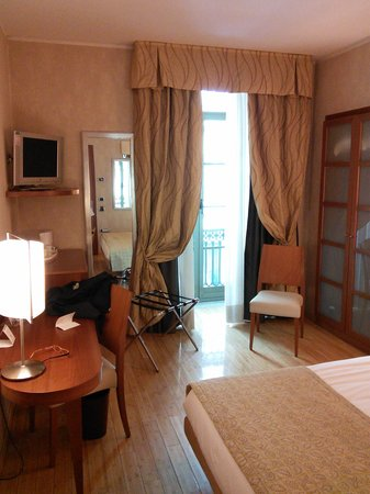 Mercure Torino Crystal Palace : Room on the first floor