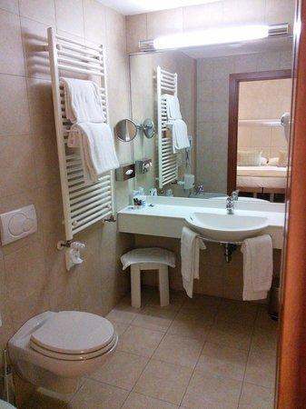 Best Western Crystal Palace Hotel : Bathroom