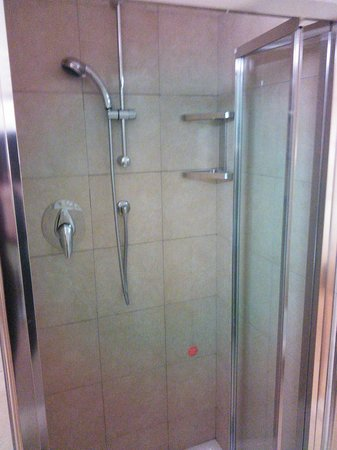 Best Western Crystal Palace Hotel : Shower