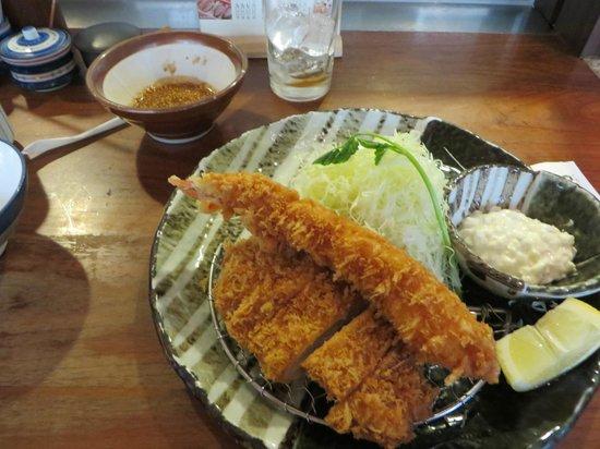 "Katsukura Shinjuku Takashimaya: Japanese ""Surf N Turf"""