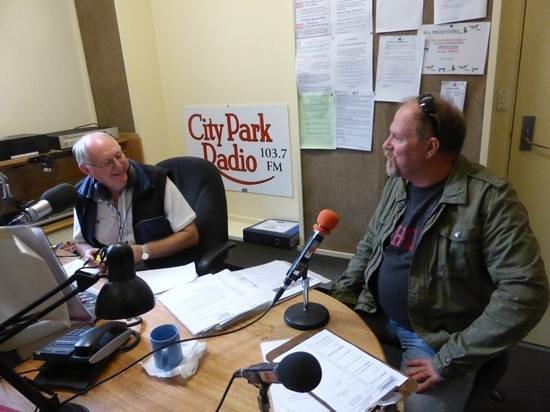 City Park Radio Museum: chatting on air