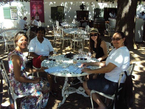 Boschendal Manor & Winery: Tasting wines