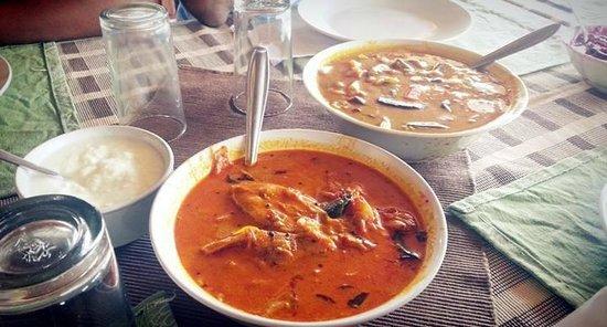 Banasura Island Resort : Yummy lunch - kerala cuisine