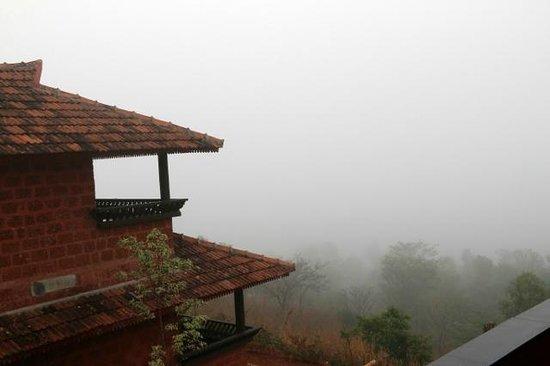 Banasura Island Retreat : Balcony