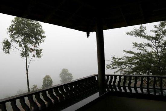 Banasura Island Retreat : Morning view from the balcony