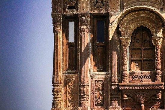 Chandelao Garh : main building