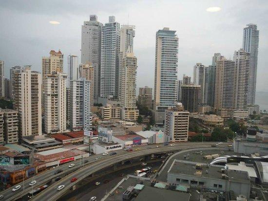 Radisson Decapolis Hotel Panama City: Vista de la habitacion piso 20