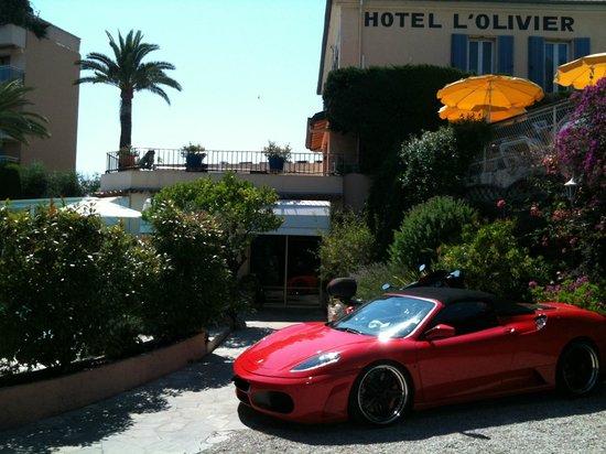 Hotel l'Olivier: parking privé