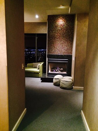 Palms Casino Resort: Master bedroom in penthouse