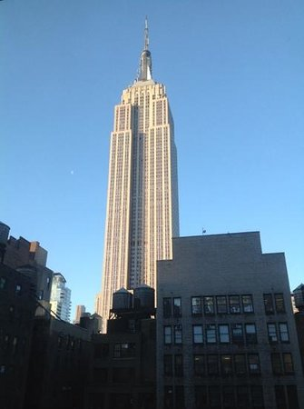 SpringHill Suites New York Midtown Manhattan/Fifth Avenue : vu de l'ESB de la chambre 1203