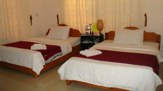 Green Pasture Inn: Double beds view