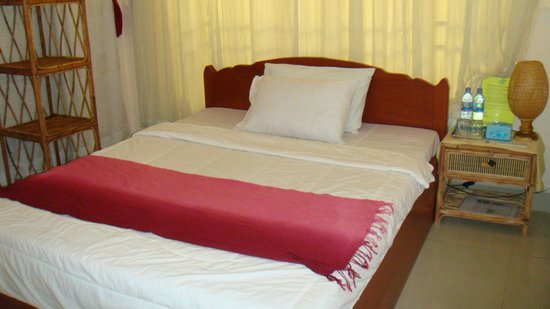 Green Pasture Inn: Single bed queen size view