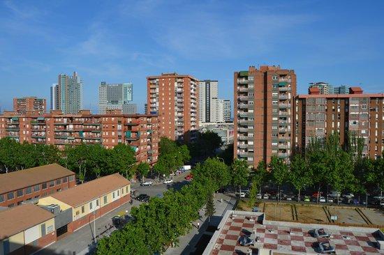 Vincci Bit: view from hotel