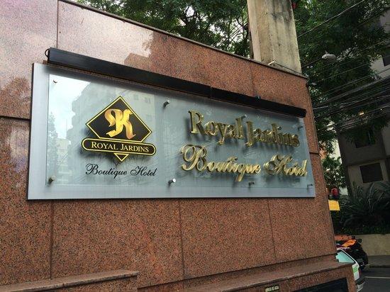 Royal Jardins Hotel: Entrada