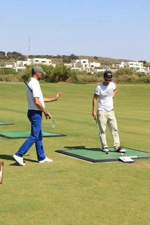 Mogador Golf Academy: Rémi Portal directeur de l'académie et enseignant