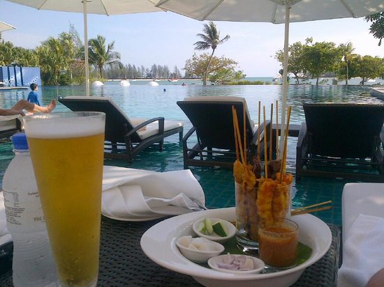 The Danna Langkawi, Malaysia : perfect and tasty food :-)