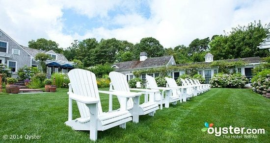 A Little Inn on Pleasant Bay: Relaxation on Front Lawn