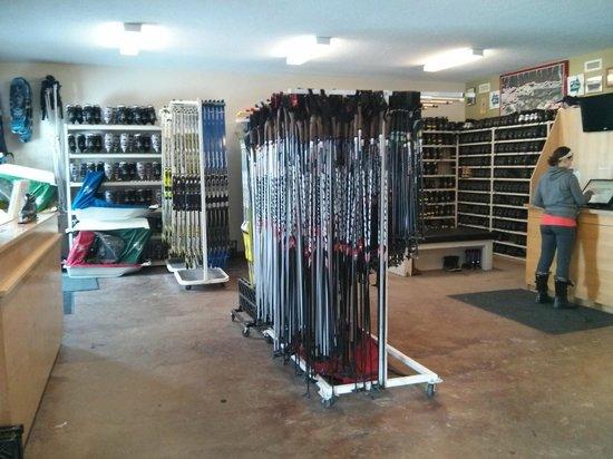 Canmore Nordic Centre Provincial Park: Trail Sports Rental Shop