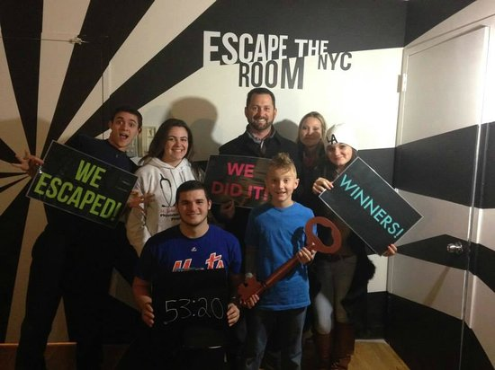 WE ESCAPED! - Picture of Escape the Room NYC, New York City ...