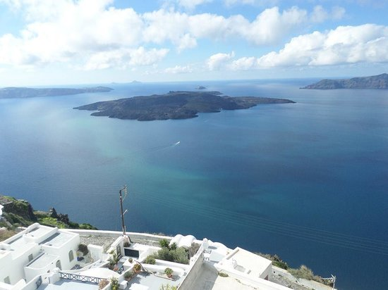 Santorini View: Vista