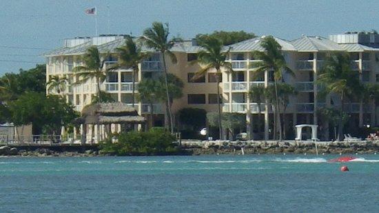 Postcard Inn Beach Resort & Marina at Holiday Isle: View from the boat.