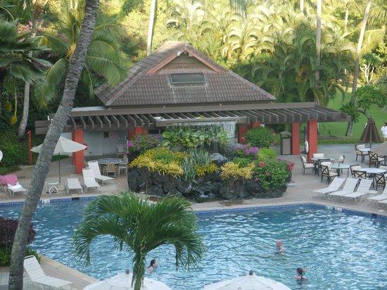 Sheraton Kauai Resort: VISTA GIARDINO dalla stanza