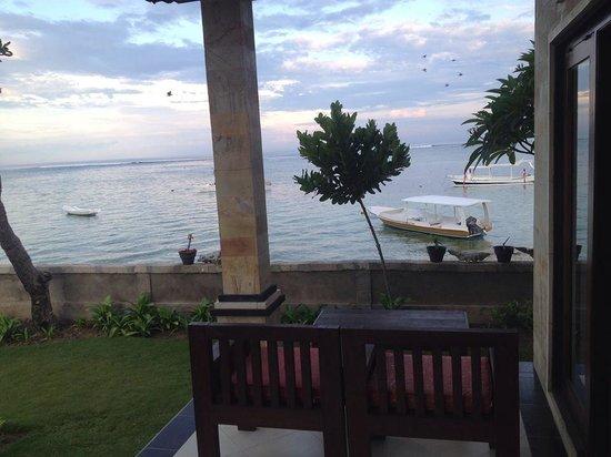 Yogi Beach Bungalows: View from 201