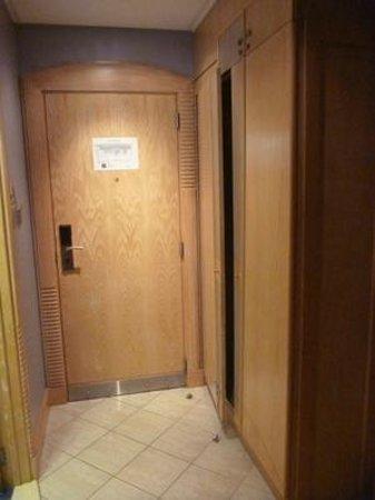 Abu Dhabi Airport Hotel: Zimmer Eingangsbereich