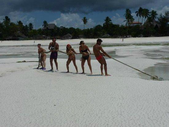 Sultan Sands Island Resort: bassa marea!