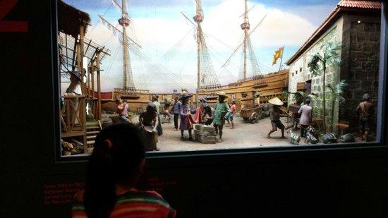 Ayala Museum: diorama