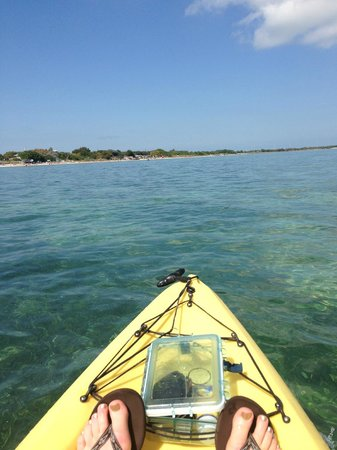 Bahia Honda State Park and Beach: kayaking