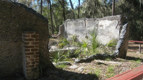 Wormsloe Historic Site: Tabby ruins