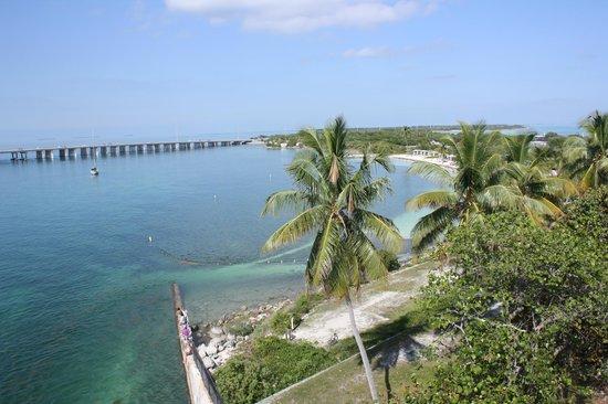 Bahia Honda State Park and Beach: view from bridge