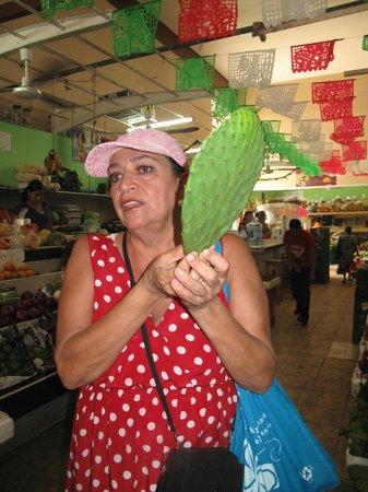 Josefina's Cocina Con Alma: Josefina in the market