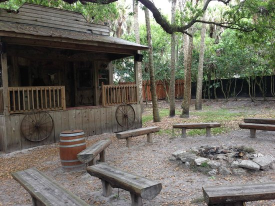 Westgate River Ranch Resort & Rodeo: East corral fire ring