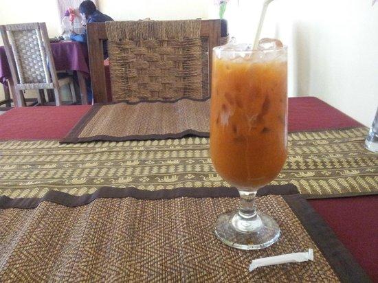 Zion Thai Restaurant: thai ice tea