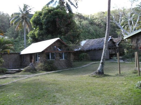Matava - Fiji's Premier Eco Adventure Resort: View of some of the buildings