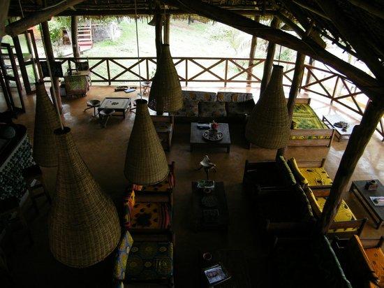 Kichanga Lodge: Bar lounge