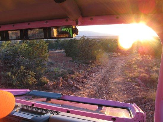 Pink Jeep Tours Sedona : Pink Jeep Tour - Diamondback Gulch