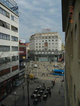 Zagreb view - Hotel Dubrovnik, Zagreb Croatia