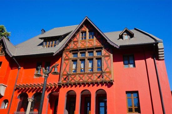 Hotel Boutique Castillo Rojo: Arquitectura